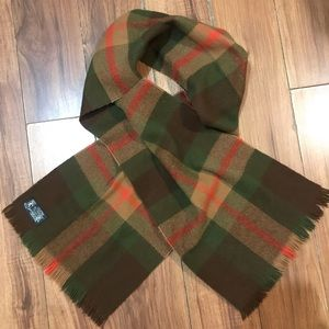 5$ ADD ON Plaid Scarf Made in France
